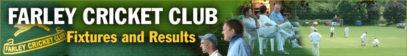 Fixtures and Results at Farley Cricket Club